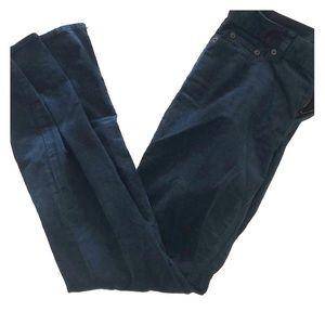 J. Crew Corduroy Teal Pants